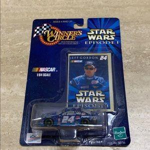 Hasbro Winners Circle Jeff Gordon Star Wars